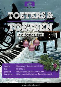 Toeters&Toetsen Kerstedititie 19-12-2016